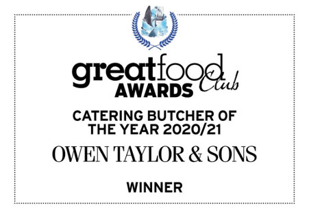 Owen Taylor & Sons wins Catering Butcher of the Year 2020/21